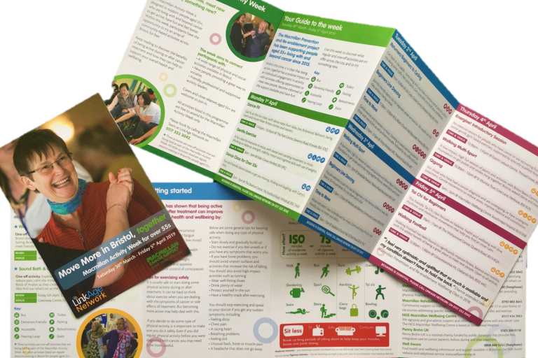 Activity week brochure